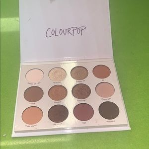 "Colourpop ""give it to me straight"" palette"